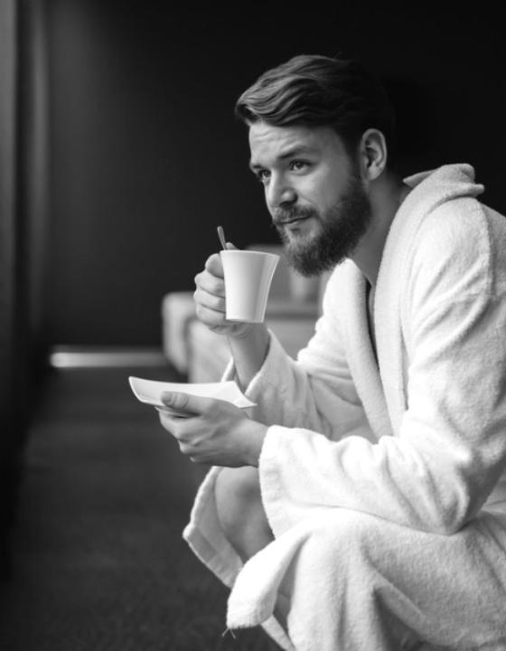 Her er de fedeste morgenkåber til mænd