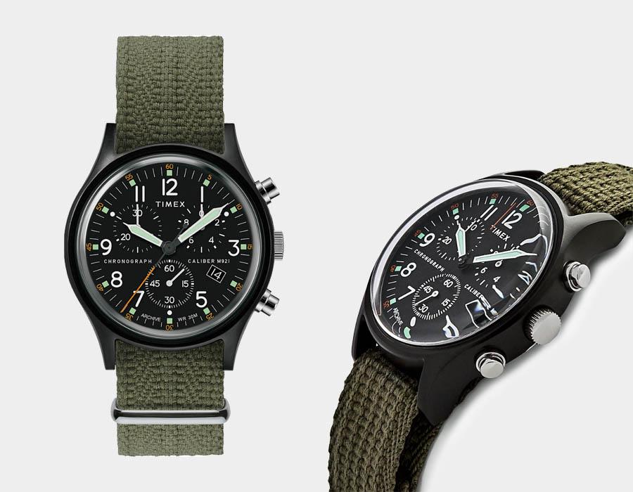 Timex camper MK1 Chronograph ur i aluminium