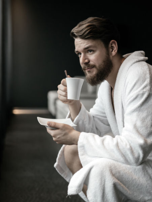 Her er de bedste morgenkåber til mænd