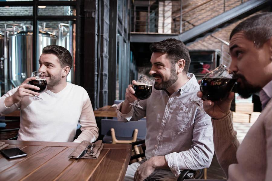 Ølsmagning med venner