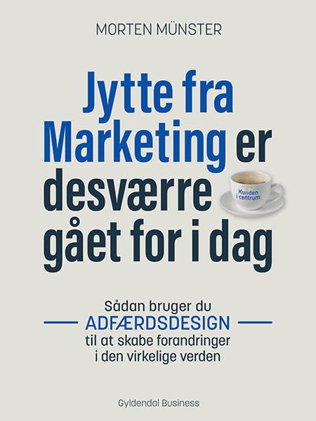 Jytte fra marketing er desværre gået for i dag lydbog