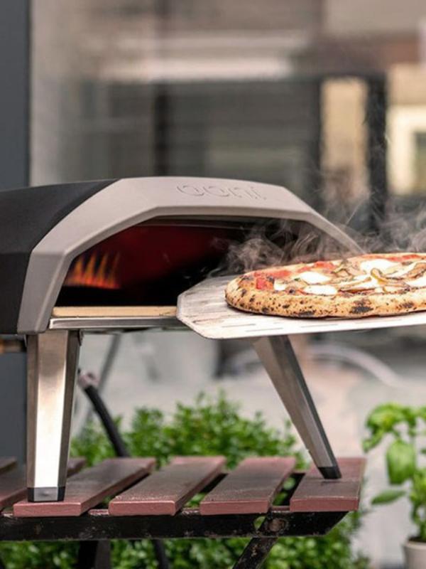 Test af pizzaovne til udendørs brug