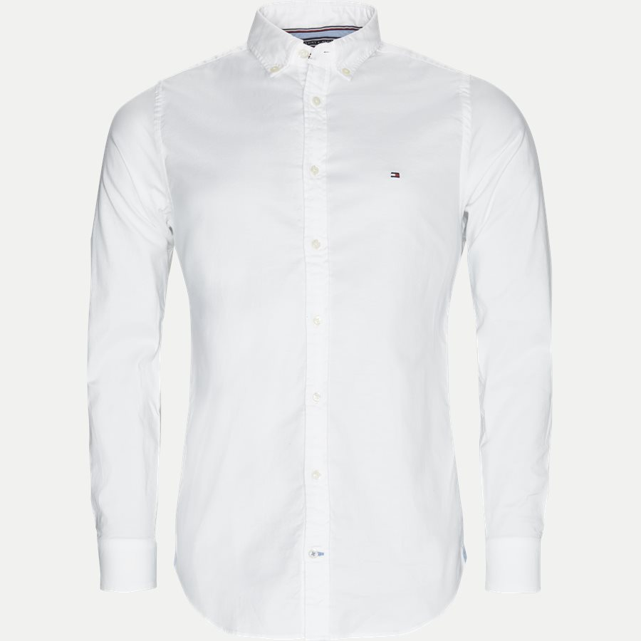 Tommy Hilfiger Core Stretch Oxford Skjorte Hvid
