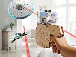 3D våben til AR og VR apps på mobilen