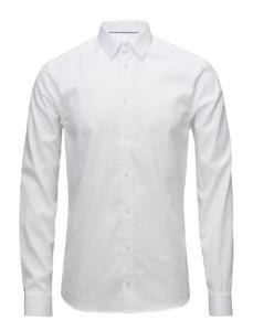 Eton Slim - Signature Twill Dress Skjorte i Hvid
