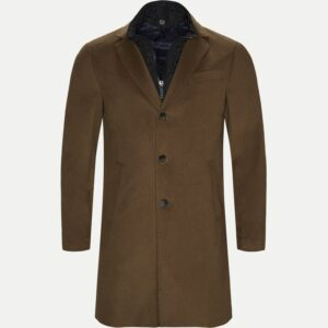 Sand Regular - Cashmere Coat Sultan Tech (Brun)