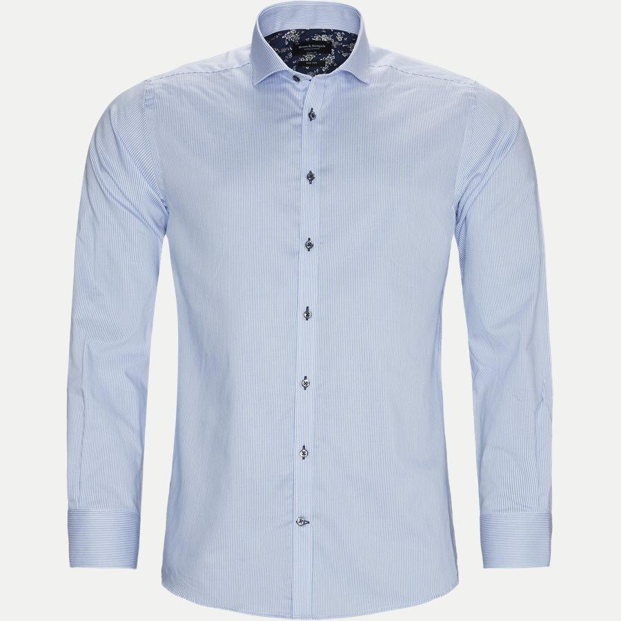 bruun og stengade benatia skjorte blå