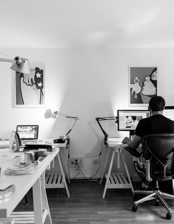 Råd til at indrette et kontor derhjemme
