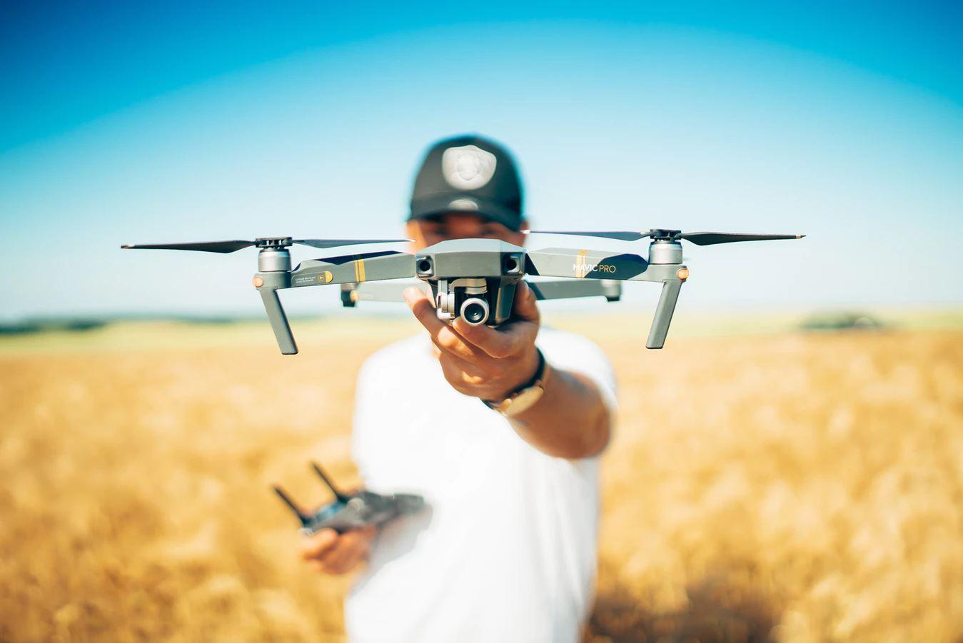 Køb en drone og skyd lækre videoer og billeder