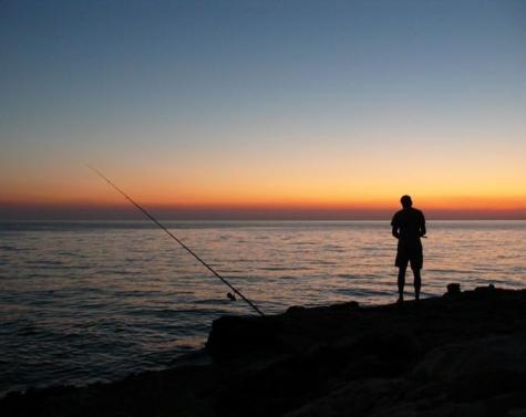 På mandetur med gutterne (fisketur)